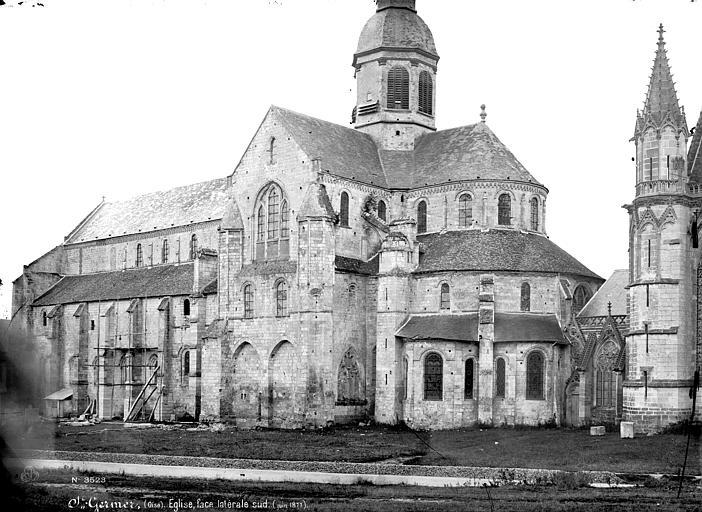 Eglise abbatiale Esemble sud-est, Mieusement, Médéric (photographe),