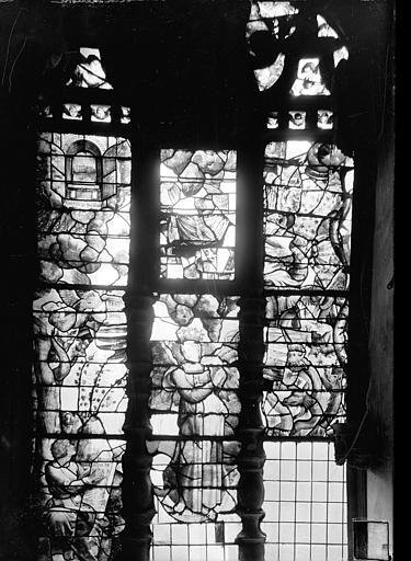 Cathédrale Saint-Vincent (ancienne) Vitrail de la sacristie : La Vision de saint Jean, Heuzé, Henri (photographe),