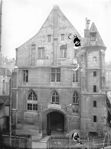 Couvent des Jacobins A l'ouest, de face, rue Racine, Durand, Eugène (photographe),