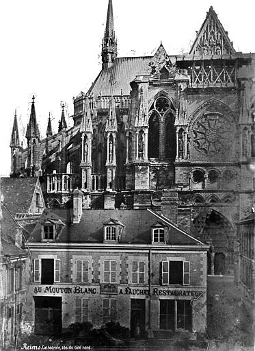 Cathédrale Notre-Dame Façade nord : abside et transept, Mieusement, Médéric (photographe),