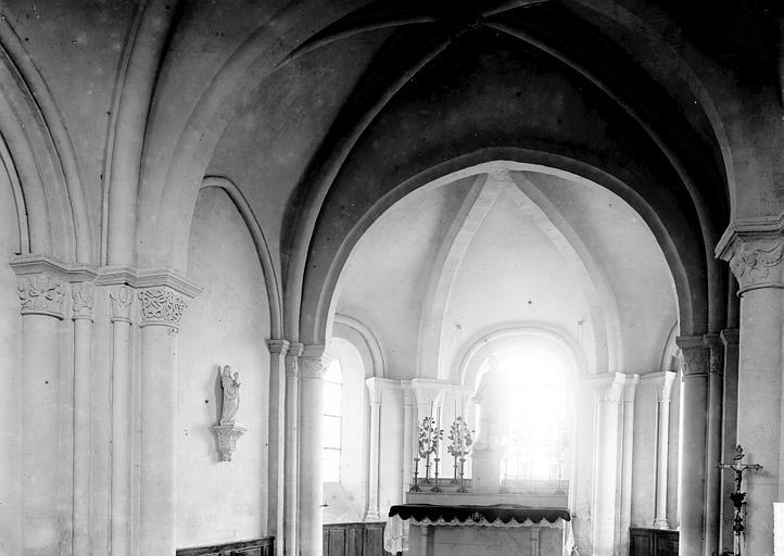 Eglise Choeur, Enlart, Camille (historien),