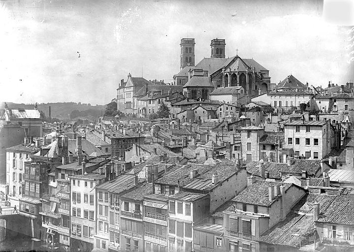 Cathédrale Notre-Dame-de-l'Assomption Vue générale prise de l'est, Vercollier (abbé),
