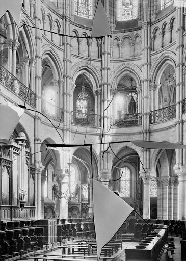Eglise Notre-Dame/Cathédrale (ancienne) Choeur, Durand, Eugène (photographe),