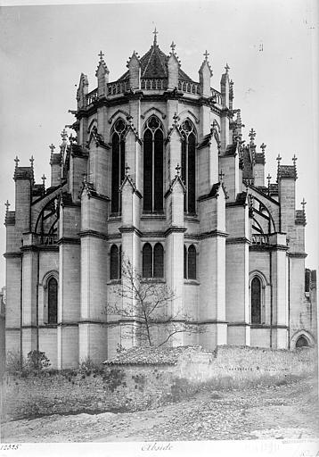 Cathédrale Sainte-Marie-Majeure Ensemble est, Mieusement, Médéric (photographe),