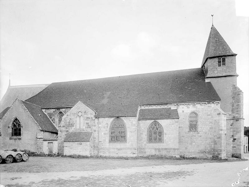 Eglise Façade nord, Heuzé, Henri (photographe),