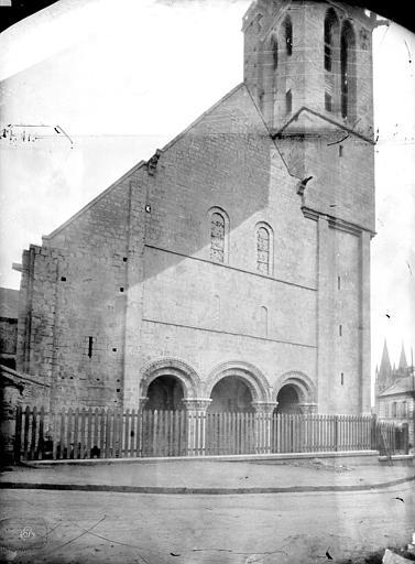 Eglise Saint-Nicolas (ancienne) Façade ouest, Durand, Jean-Eugène (photographe),