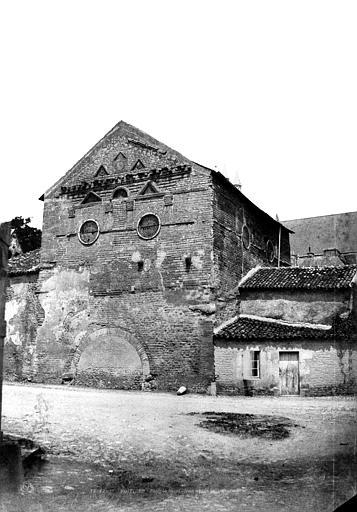 Baptistère Saint-Jean Vue d'ensemble, Le Gray, Gustave ; Mestral, Auguste (photographe),