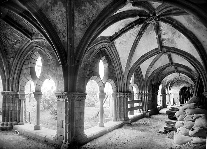 Cathédrale Saint-Martin Cloître : vue intérieure des galeries, Mieusement, Médéric (photographe),