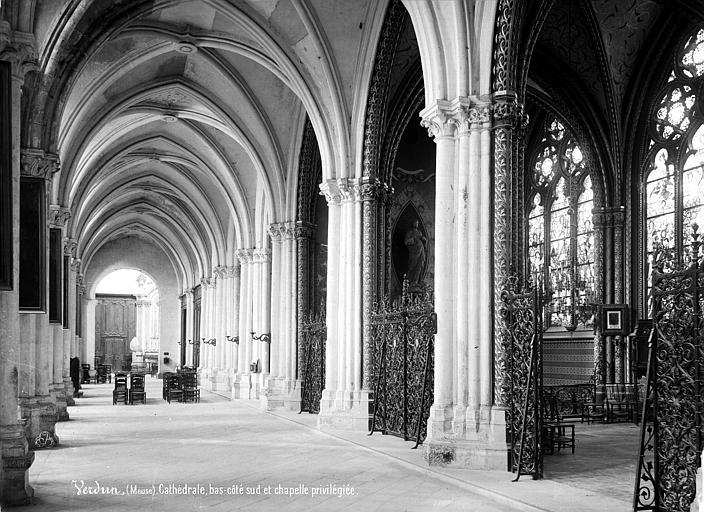 Cathédrale Notre-Dame-de-l'Assomption Vue intérieure du bas-côté sud : chapelle privilégiée, Mieusement, Médéric (photographe),