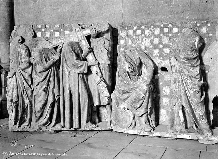Cathédrale Saint-Etienne Fragments de l'ancien jubé, Mieusement, Médéric (photographe),