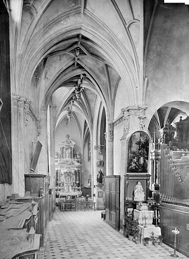 Cathédrale de la Trinité Vue intérieure du déambulatoire, Mieusement, Médéric (photographe),