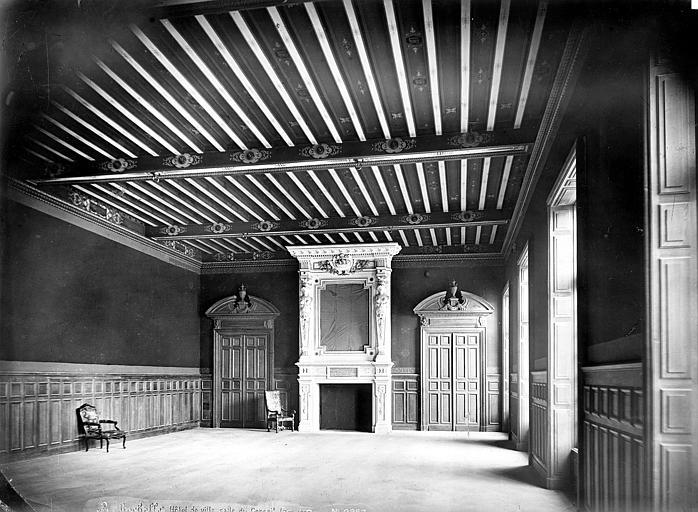 Hôtel de Ville Salle du Conseil, Mieusement, Médéric (photographe),
