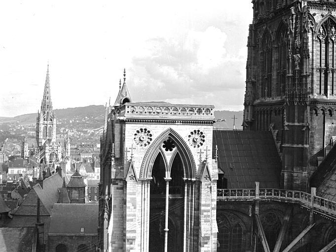 Cathédrale Tour du transept, Chaine, Henri (architecte),