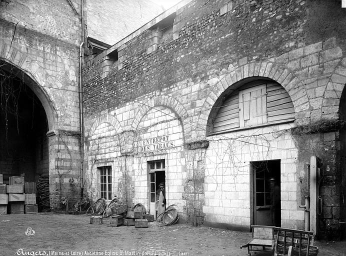 Collégiale Saint-Martin (ancienne) Arcatures, Mieusement, Médéric (photographe),