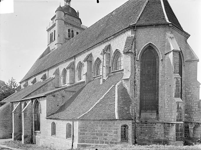 Eglise Saint-Hippolyte Ensemble sud-est, Gossin (photographe),