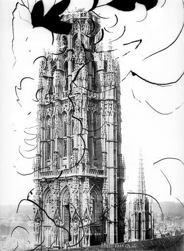 Cathédrale Notre-Dame Tour de Beurre : couronnement, Mieusement, Médéric (photographe),