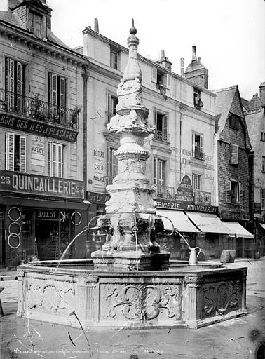 Fontaine de Beaune-Semblançay , Durand, Eugène (photographe),