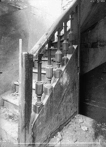 Maison Rampe d'escalier, Verneau, G.,
