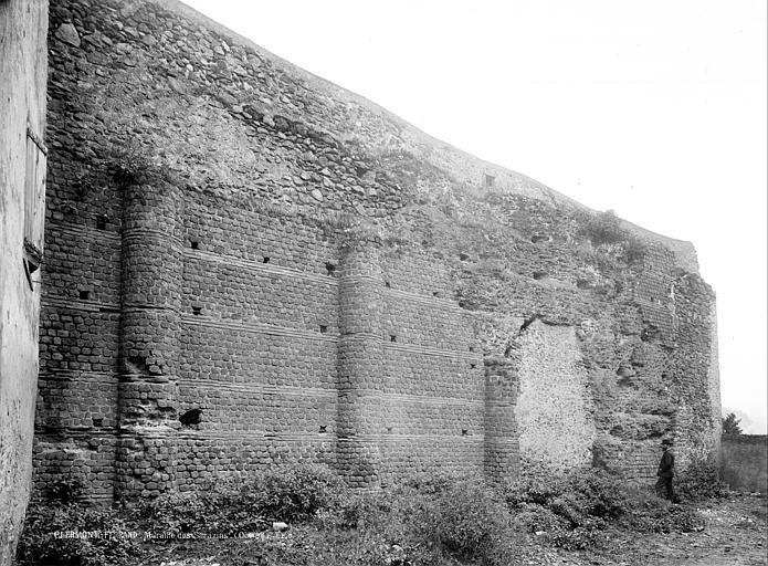Murailles dites des Sarrazins Vue d'ensemble, Durand, Jean-Eugène (photographe),