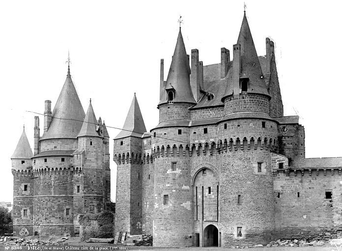 Château Vue d'ensemble, Mieusement, Médéric (photographe),