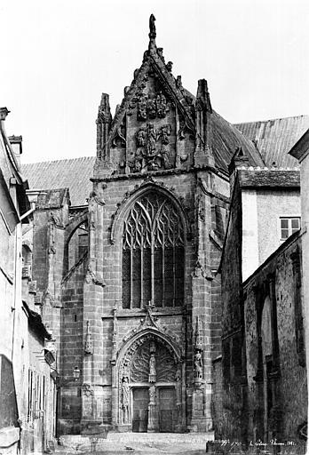 Eglise Saint-Remi Transept sud, Le Secq, Henri (photographe),
