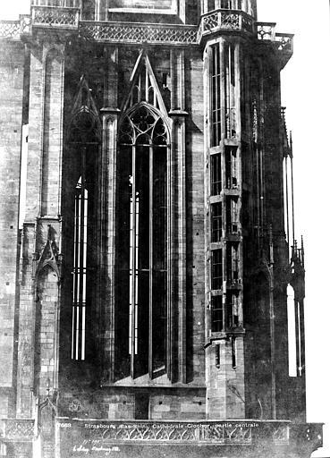Cathédrale Notre-Dame Clocher : Partie centrale, Le Secq, Henri (photographe),