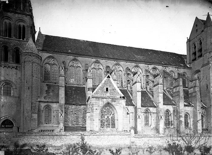 Abbaye Saint-Nicolas (ancienne) Eglise, ensemble sud, Durand, Eugène (photographe),