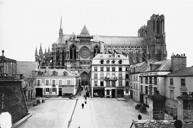 Cathédrale Notre-Dame Ensemble nord, Lajoie, Abel,
