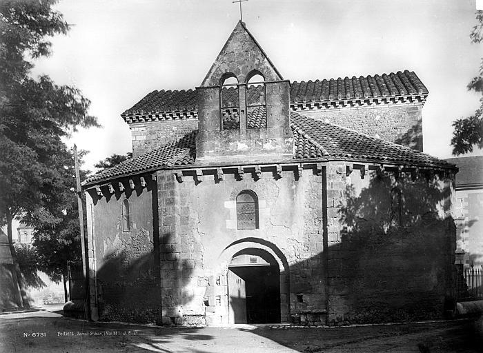 Baptistère Saint-Jean Ensemble ouest, Durand, Eugène (photographe),