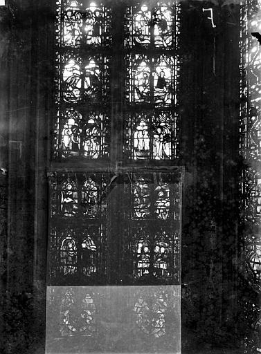 Cathédrale Notre-Dame Chapelles du choeur, vitrail F, Gaudin,