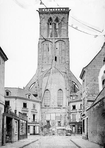 Tour Charlemagne ; Abbaye de Saint-Martin (ancienne) , Durand, Eugène (photographe),