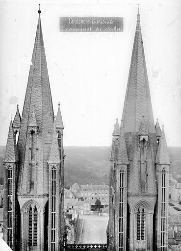 Cathédrale Notre-Dame Tours clocher : partie supérieure, côté est, Mieusement, Médéric (photographe),