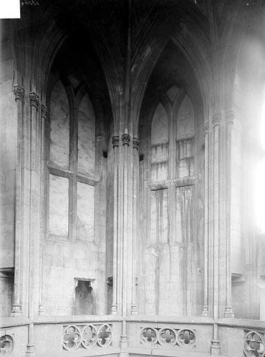Eglise de Saint-Etienne-le-Vieux (ancienne) Vue intérieure d'une tour lanterne : partie haute, Heuzé, Henri (photographe),