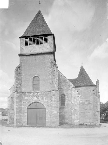 Eglise Façade ouest, Heuzé, Henri (photographe),
