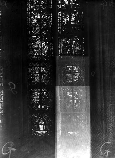 Cathédrale Notre-Dame Chapelles du choeur, vitrail G', Gaudin,