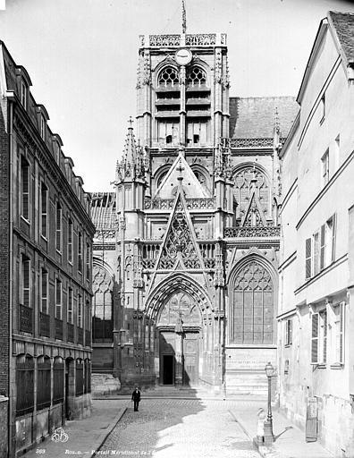Eglise Saint-Vincent (ancienne) Portail sud, Neurdein Frères (photographes),