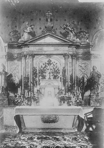 Eglise Maître-autel, Service photographique ; Genuys, C. (photographe),