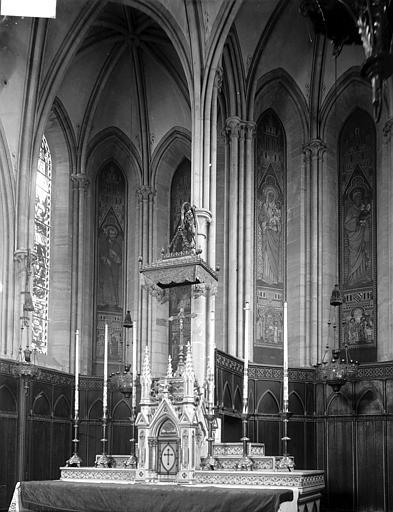 Chapelle du Séminaire Choeur, Enlart, Camille (historien),