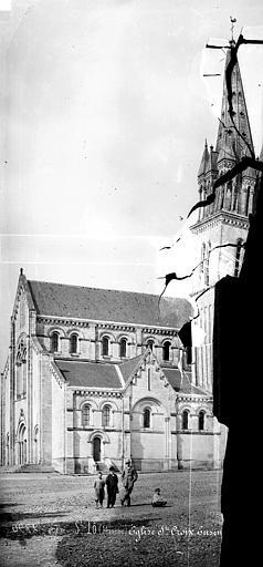 Eglise Sainte-Croix Façade sud : partie ouest, Mieusement, Médéric (photographe),