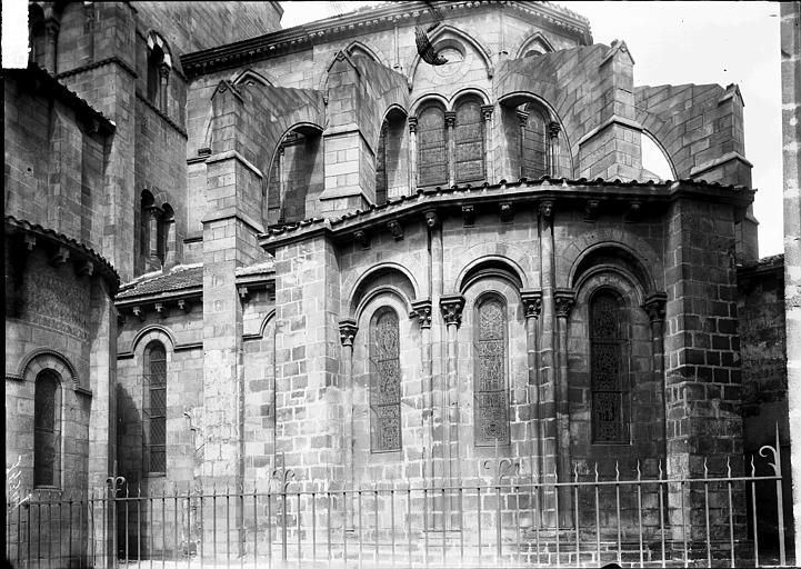 Eglise Saint-Amable Abside, au sud, Enlart, Camille (historien),