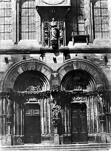 Cathédrale Notre-Dame Transept sud : Partie inférieure, Le Secq, Henri (photographe),
