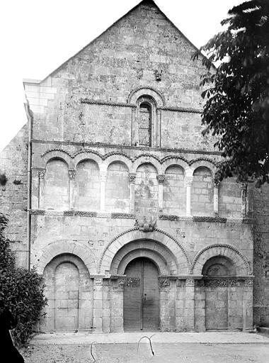 Eglise Saint-Jean-Baptiste Façade ouest, Mieusement, Médéric (photographe),