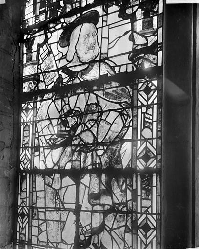 Cathédrale Saint-Maurice Vitrail : Saint Pierre, ,