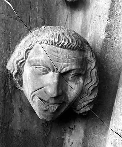 Cathédrale Notre-Dame Transept sud, tête d'amortissement, Lajoie, Abel,