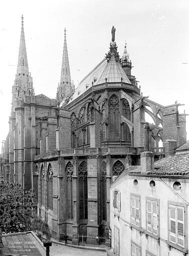 Cathédrale Notre-Dame Ensemble sud-est, Durand, Jean-Eugène (photographe),