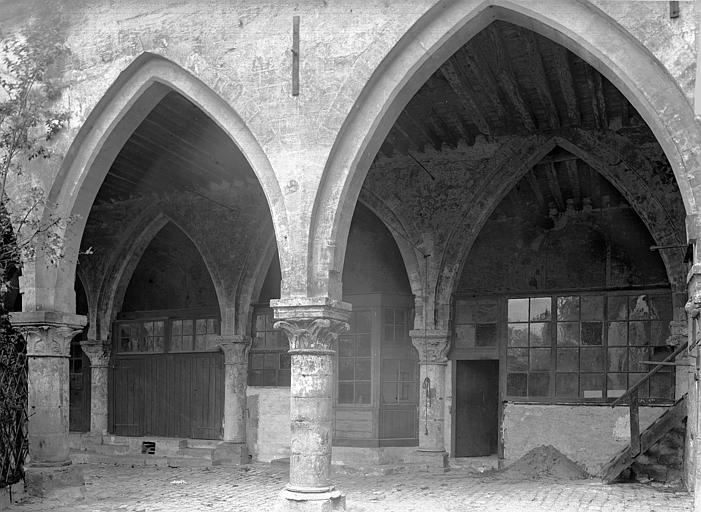 Cloître Arcades et galerie, Durand, Jean-Eugène (photographe),