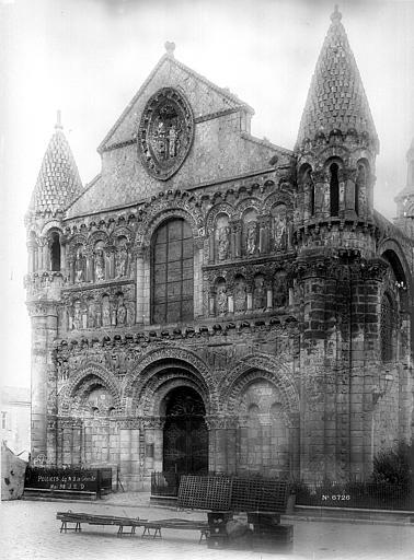 Eglise Notre-Dame-la-Grande Façade ouest, Durand, Eugène (photographe),