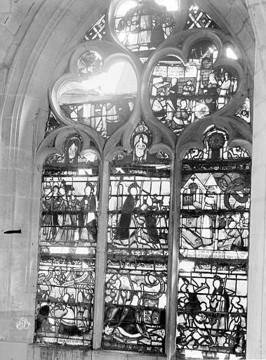 Eglise Saint-Nizier Vitraux, fenêtre E, Lancelot, Gustave,