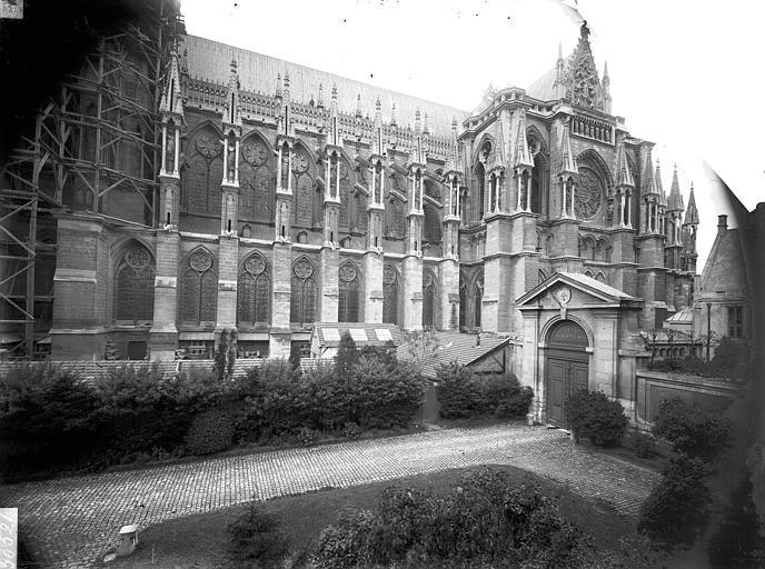 Cathédrale Notre-Dame Façade sud, Lajoie, Abel,