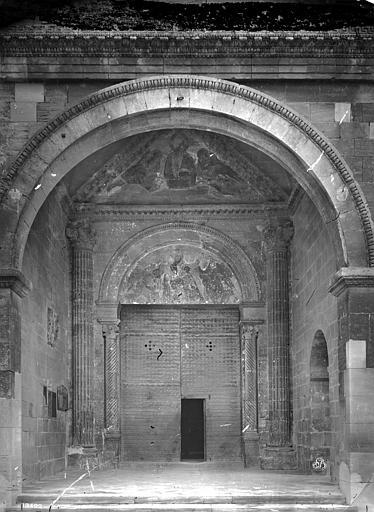 Cathédrale Notre-Dame-des-Dons Porche de la façade ouest : Grande porte, Mieusement, Médéric (photographe),